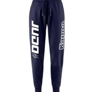 pantalone blu judo kappa
